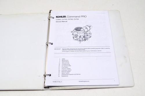 Kohler Command Pro CV682, CV732, CV742, CV752 Service Manual 24 690 37, 24  690 37 Rev  A NOS