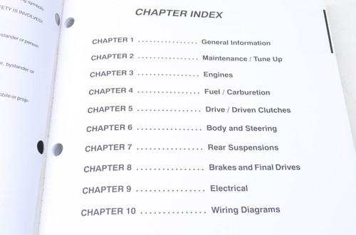 2001 polaris snowmobile repair manual