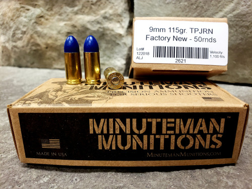 Elite 9mm Blue Coat (115gr)