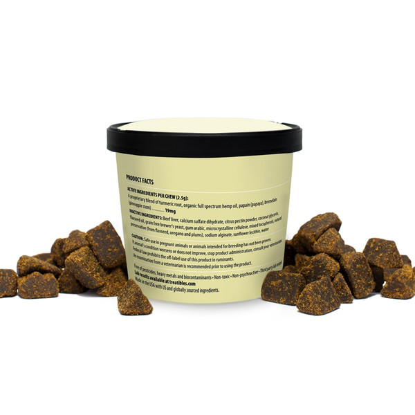 Treatibles Canine Soft Chews - back