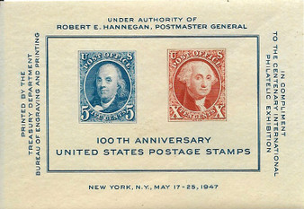 1947 Postage Stamps 100th Anniversary #948 MNH