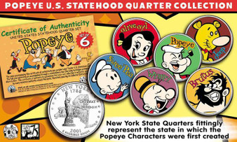 Popeye State Quarter Collection