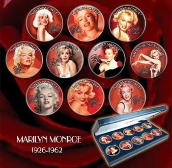 Marilyn Monroe JFK Half Dollar Collection