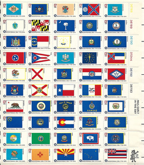 1976 #1633 Fifty State Flags