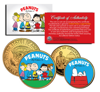 Peanuts 2 Coin Set