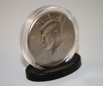 25 Coin Display Stands for Half Dollar & Quarter Coin Capsules