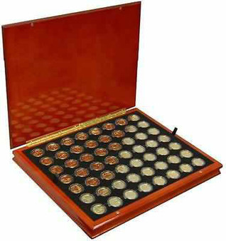 24K Gold-Plated State Quarter Collection 1999-2009 in Heirloom Case