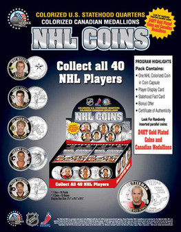 2006 NHL Coin Box 1st Edition 18 Foil Packs Factory Sealed Box
