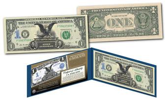 1899 Black Eagle 2 President $1 Silver Certificate Hybrid New Modern $1 Bill