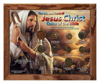 "Life & Times Of Jesus Christ ""Shepherd"" Historical Replica Set in 8"" x 10"" Frame"