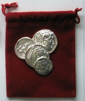 Alexander The Great - Silver Edition Set in Velvet Pouch