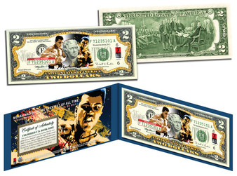 Muhammad Ali - Art Edition Commemorative $2 Bill