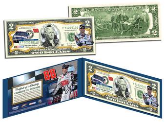 Dale Earnhardt Jr. National Guard $2 Bill