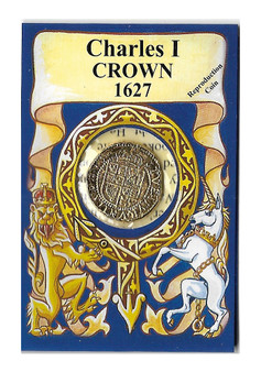 Charles I 1627 Crown Replica Coin