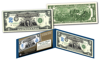 1899 George Washington $2 Silver Certificate Hybrid New Modern $2 Bill