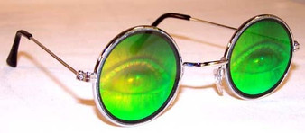 Human Eyes Hologram Sunglasses