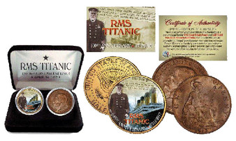 The Titanic 100th Anniversary US/UK Set 1 With Case