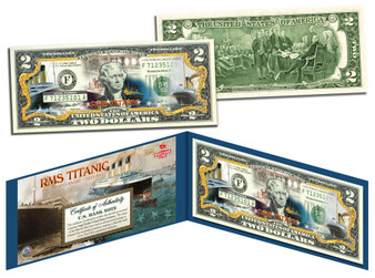 Titanic 100th Anniversary Commemorative $2 Bill