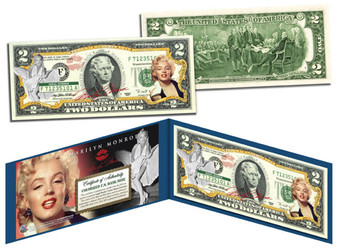 Marilyn Monroe Commemorative $2 Bill