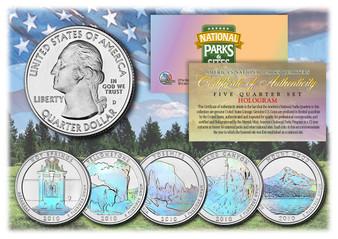 Hologram National Park Quarters 2010