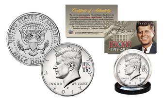 2017 Kennedy JFK Half Dollar Centennial Special JFK100 Privy Mark