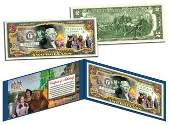 Wizard Of Oz 70th Anniversary $2 Bill