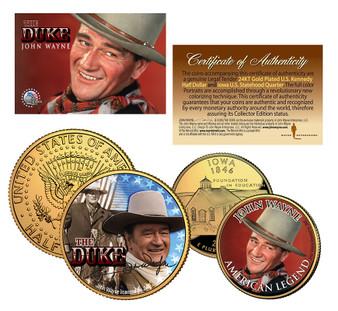 John Wayne Collection - 2 Coin Set