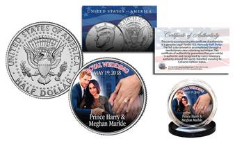 Prince Harry & Meghan Markle Royal Wedding May 19th 2018 Coin