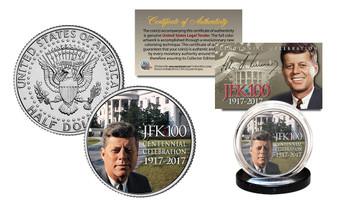 John F. Kennedy JFK100 Celebration 2017 JFK Half Dollar White House Lawn