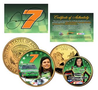 Danica Patrick Commemorative 2 Coin Set