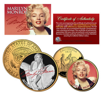 Marilyn Monroe Collection - 2 Coin Set