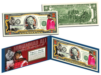Honoring Muhammad Ali Commemorative $2 Bill