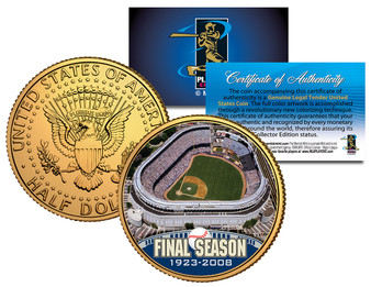 2008 Yankee Stadium Final Season JFK Half