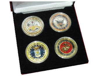Armed Forces Silver Eagle Tribute Set