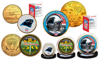 50th Anniversary Super Bowl Carolina 3 Coin Set