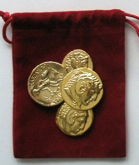 Alexander The Great - Gold Edition Set in Velvet Pouch