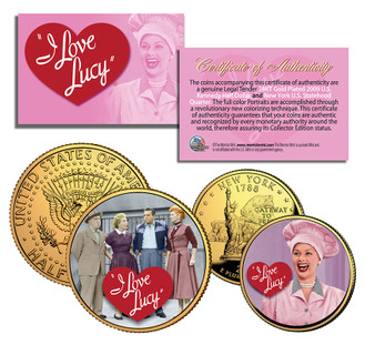 I Love Lucy - 2 Coin Set