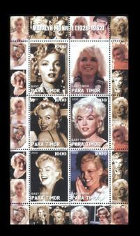 Para Timor 2000 Marilyn Monroe Stamp Sheet 2