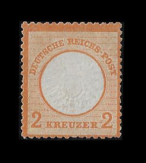 1872 #24 Large Shield 2 Kreuzer MH