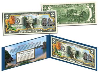 Vietnam Ha Long Bay Dragons $2 Bill - Lucky Money