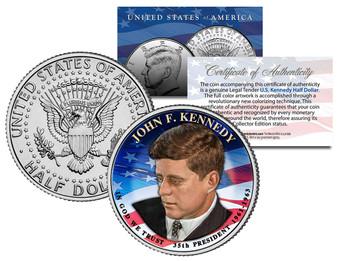 Presidential $1 Kennedy Design 2015 JFK Half - Choose from 2 Types