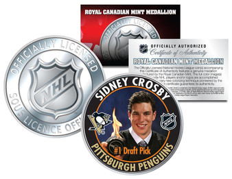 Sidney Crosby #1 Draft Pick 2005-2006 Royal Canadian Mint