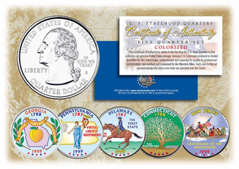 Colorized State Quarter Series 1999