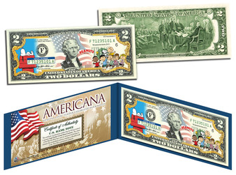 Peanuts Americana Series $2 Bill
