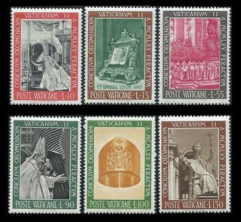Vatican City 1966 Stamps #439-444 MNH