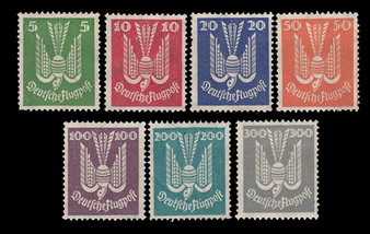 1924 #344-350 Airmail Dove MLH