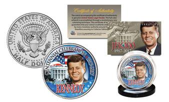 John F. Kennedy JFK100 Celebration 2017 JFK Half Dollar White House