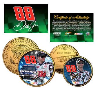 Dale Earnhardt Jr. #88 National Guard 2 Coin Set