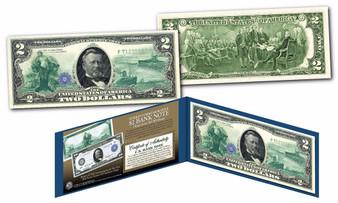 1914 Series $50 Ulysses S. Grant Design Hybrid New Modern $2 Bill