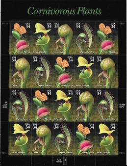 2001 #3528 Carnivorous Plants